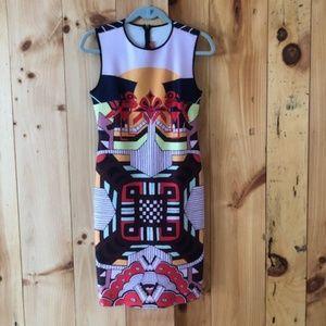 Clover Canyon Neoprene Sheath Dress - Medium